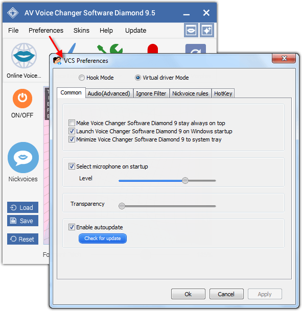 av voice changer diamond v6.0.10