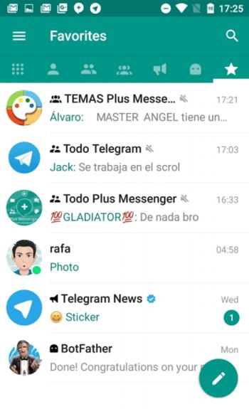 Plus Messenger 4.2.1.1 для Android