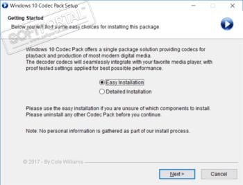Windows 10 Codec Pack - скачать бесплатно Windows 10 Codec