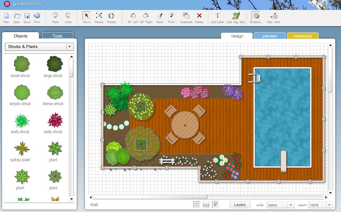 Garden planner garden planner 3 - Disegna il tuo giardino ...