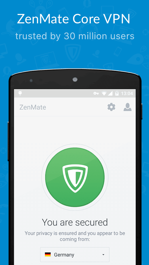 Free download zenmate for android
