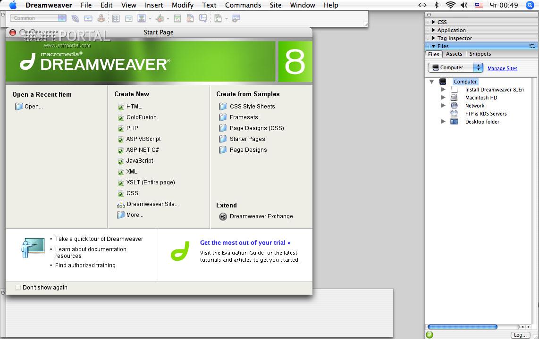 Скачать программу dreamweaver 8 сайт андроид скачать программы бесплатно