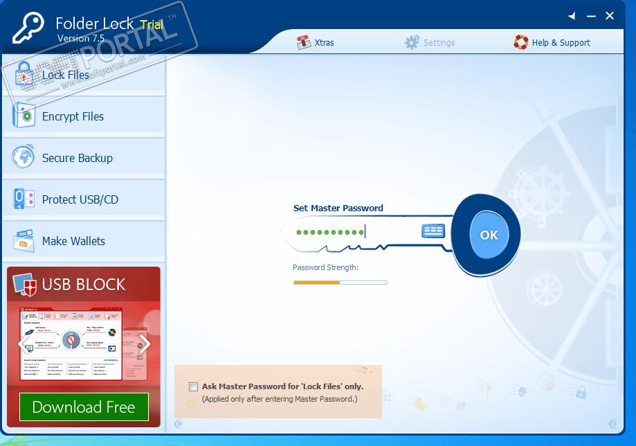 Скачать бесплатно программы для защиты папок паролем