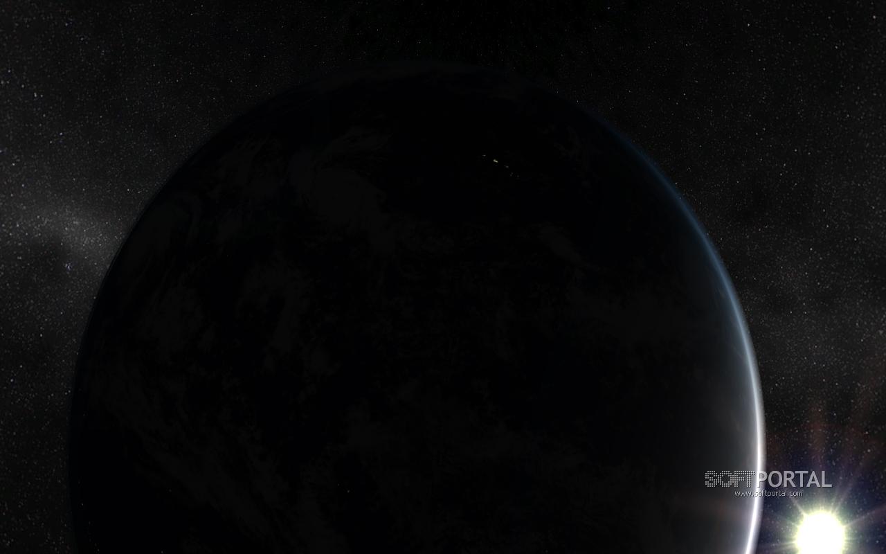 Solar system earth 3d screensaver красивый и очень