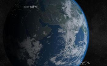 Solar System - Earth 3D screensaver - скачать бесплатно Solar System - Earth 3D screensaver 1.9