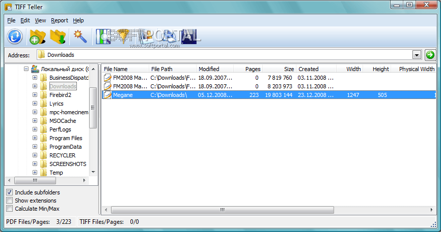 Программа для открытия файла tiff скачать бесплатно