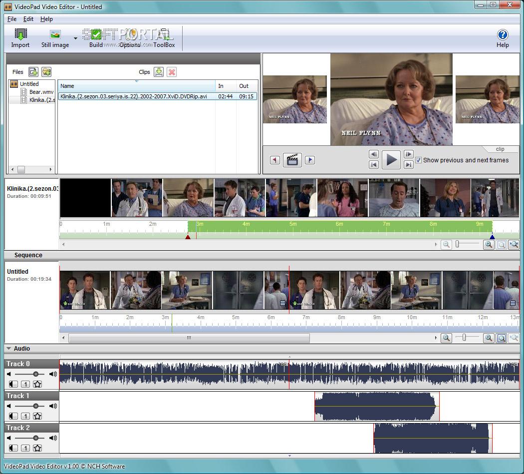 VideoPad Video Editor - скачать бесплатно VideoPad Video ...